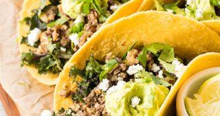 Mushroom Hazelnut Tacos | The Kitchen Paper