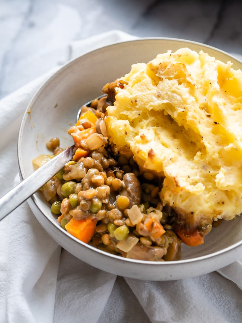 Lentil Shepherds Pie | The Kitchen Paper