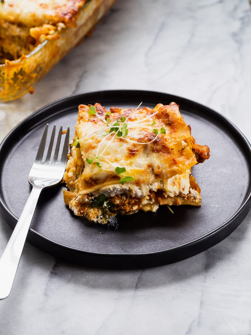 Pumpkin Chorizo Lasagna | The Kitchen Paper