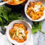 Red Pepper and Tomato Baked Gnocchi | The Kitchen Paper