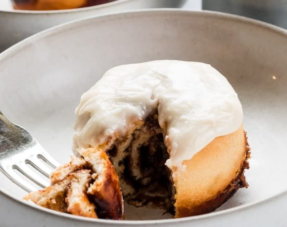 Vegan Small Batch Cinnamon Rolls | The Kitchen Paper