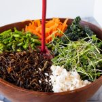 Wild Rice Salad with Blackberry Vinaigrette | The Kitchen Paper