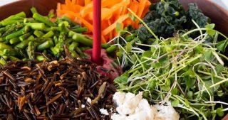 Wild Rice Salad with Blackberry Vinaigrette | The Kitchen Paper